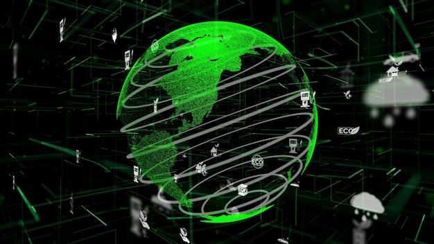Streszczenie zielonej technologii przyjaznej dla środowiska