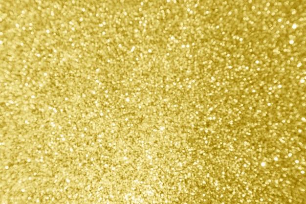 Streszczenie złoty brokat blask bokeh światła tła