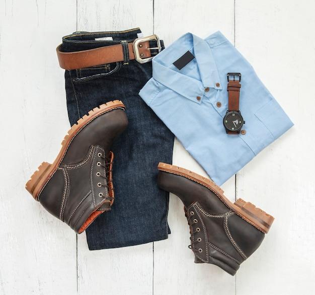 Strój męski moda