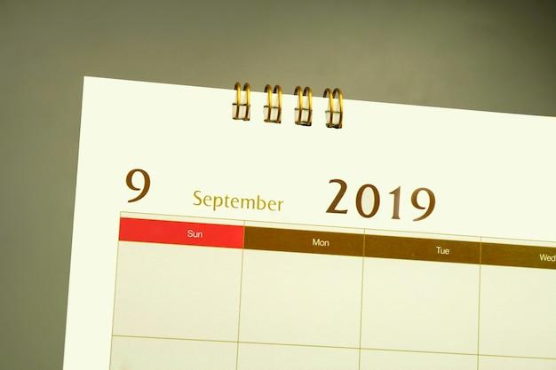 Strona kalendarza miesiąca