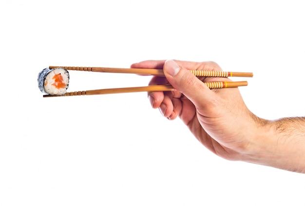 Strony gospodarstwa sushi z pałeczki