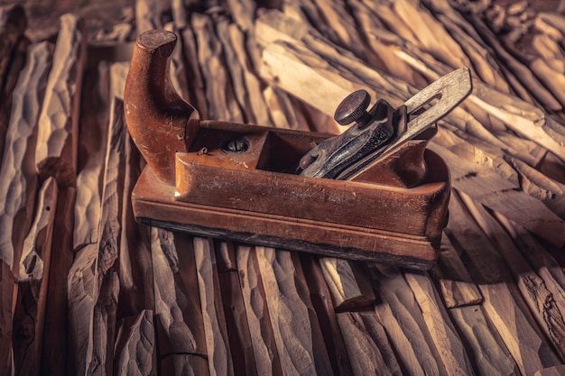 Strugarka do drewna vintage