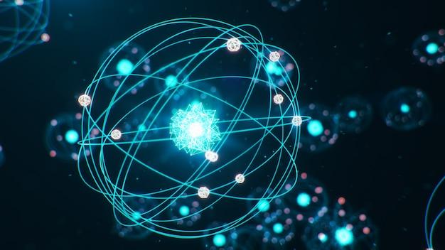 Struktura atomowa to najmniejszy poziom materii, który tworzy pierwiastki chemiczne