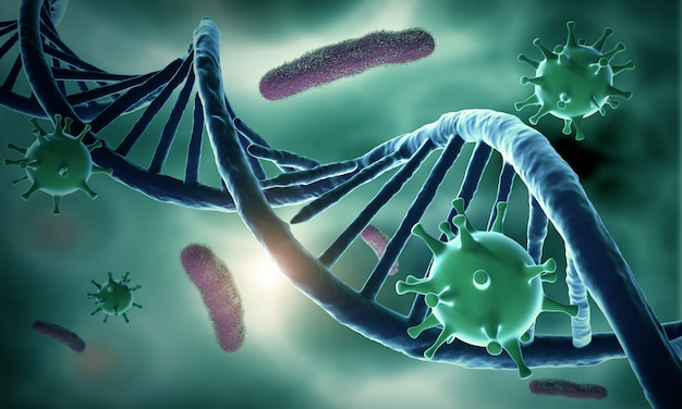 Struktura dna i zakażony hiv