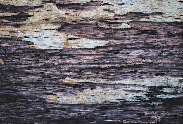 Struktura drewna naturalna powierzchnia zerodowana przez czastło starego drewna selektywne skupienie