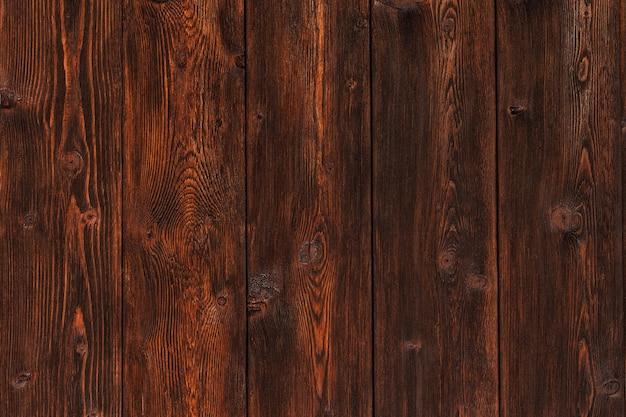 Struktura drewna, tło drewniane deski, biurko z drewna w paski z bliska, stary stół lub podłoga, brązowe deski z copyspace