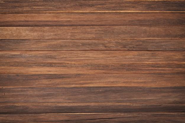 Struktura drewna z naturalnym wzorem. brązowe deski jako tło