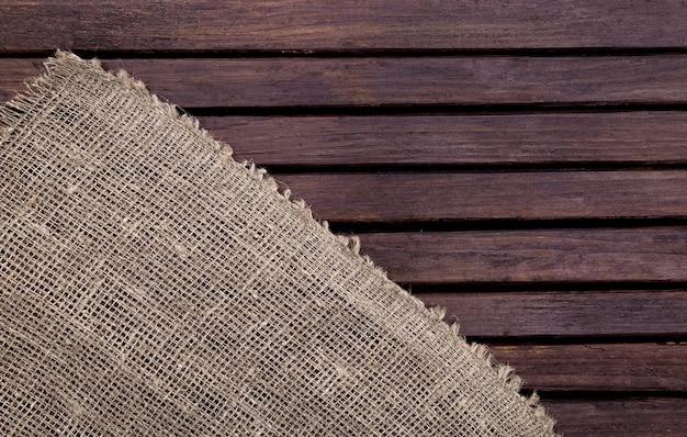 Struktura i tkanina z ciemnego drewna