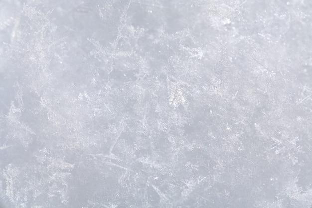 Struktura nawierzchni śnieżnej (tło)