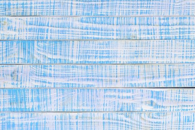 Struktura starego drewna pomalowana na kolor turkusowy lub morski