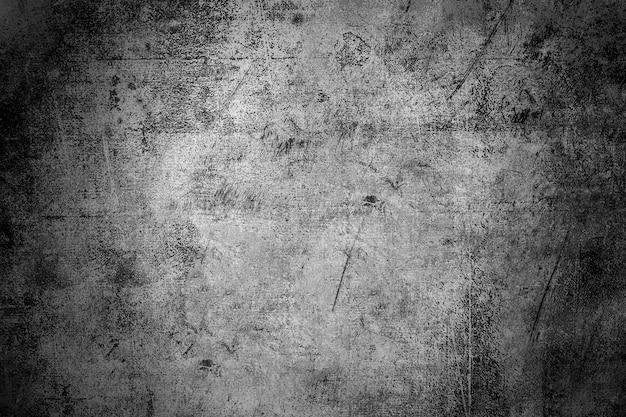 Strzał zbliżenie betonu czarno-białe tekstury tła stylu grunge