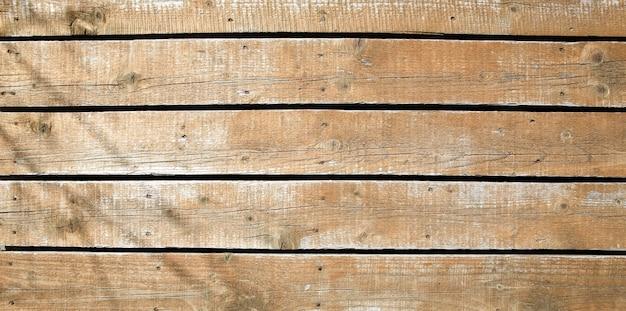 Strzał zbliżenie drewnianej ścianie