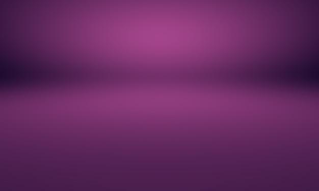 Studio background concept - abstrakcyjna ciemno fioletowe studio gradientowe t?o pokoju dla produktu.
