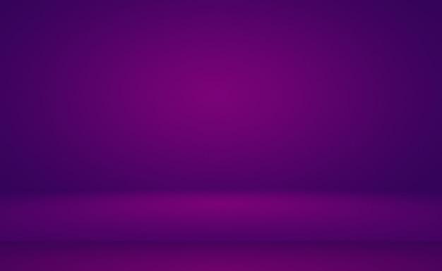 Studio background concept - abstrakcyjna puste światło gradientu purpurowe studio tło pokoju dla produktu. zwykły studio tło.