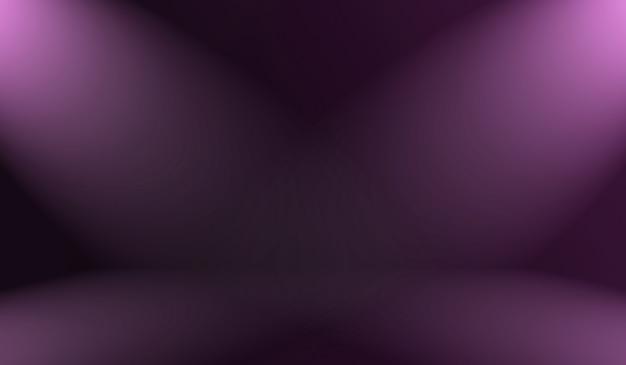 Studio background concept - abstrakcyjna puste światło gradientu purpurowe studio tło pokoju dla produktu.