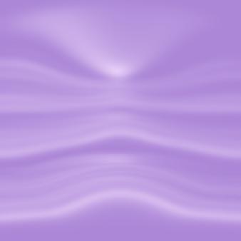 Studio background concept - streszczenie puste światło gradientowe fioletowe tło pokoju studio dla produktu.