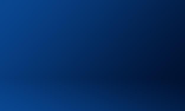 Studio tło ciemny niebieski gradient