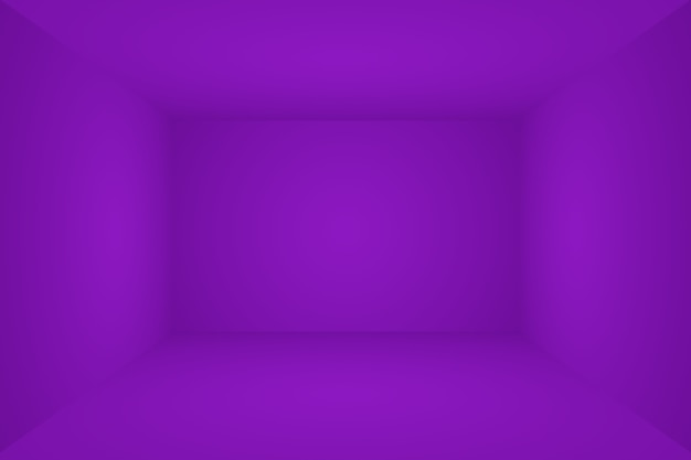 Studio tło koncepcja streszczenie puste światło gradient fioletowy studio pokój tło dla produktu p...