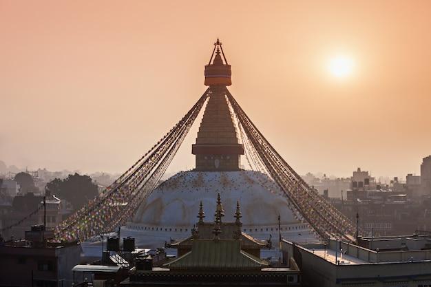 Stupa boudhanath, katmandu