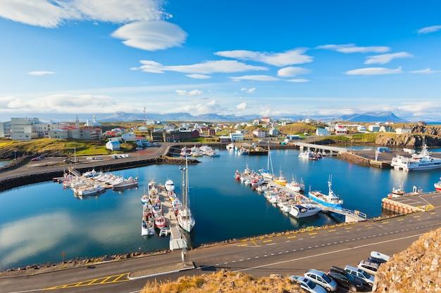 Stykkishólmur, zachodnia część islandii