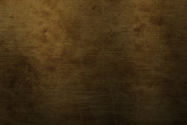 Styl grunge porysowany metalowy talerz tekstury tła