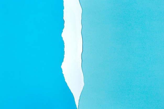 Styl tła biały i niebieski papier