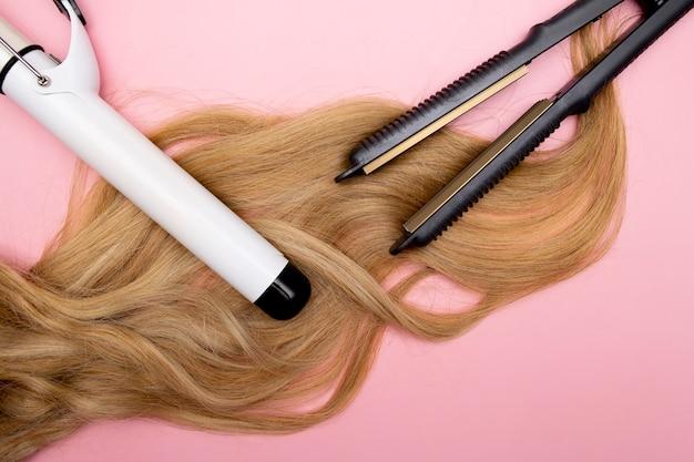 Stylizacja loków i fryzury na blond loki lokówka zwiększająca objętość cienkich włosów narzędzia fryzjerskie