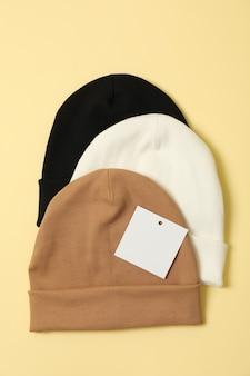 Stylowe czapki