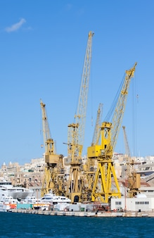 Suchy dok w grand harbour