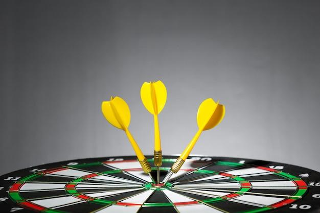 Sukcesu ciupnięcia cel, celu celu osiągnięcia pojęcie
