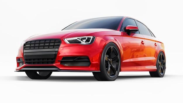 Super szybki samochód sportowy renderowania 3d
