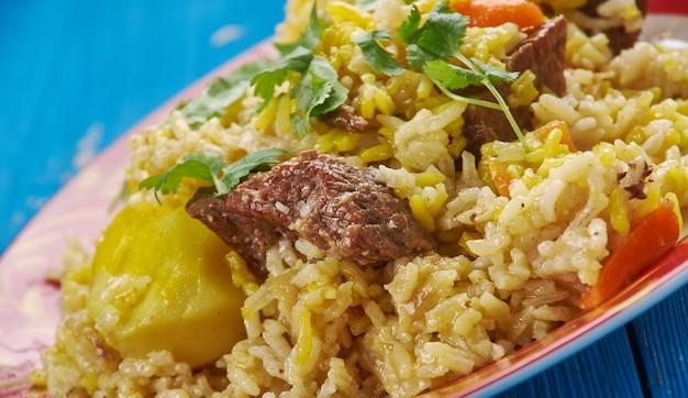 Surbiyaan - lub zurbiyan to rodzaj biryani, który jest popularny w jemenie, innych częściach półwyspu arabskiego