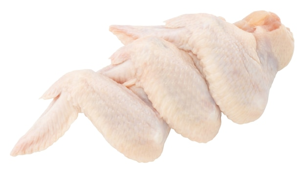 Surowe skrzydełka z kurczaka