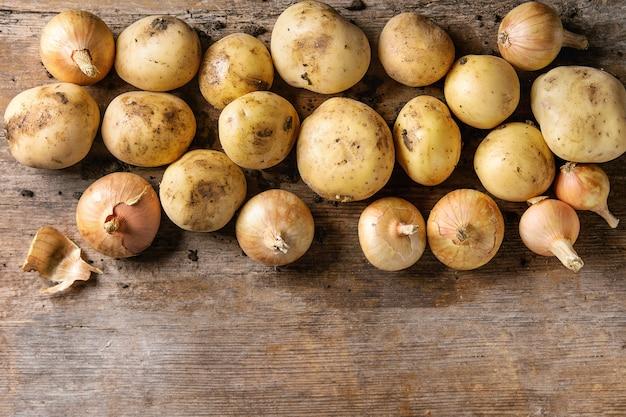 Surowe ziemniaki ekologiczne