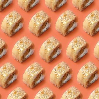 Sushi tori katsu z topionym serem