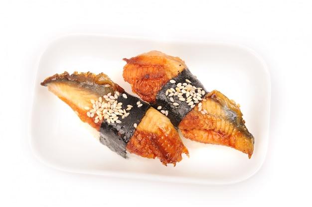 Sushi z węgorzem