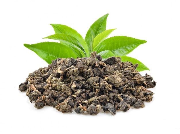 Susi herbaciani liście odizolowywający na bielu