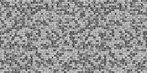 Sussex bond szary mur z cegły wzór tekstury tła