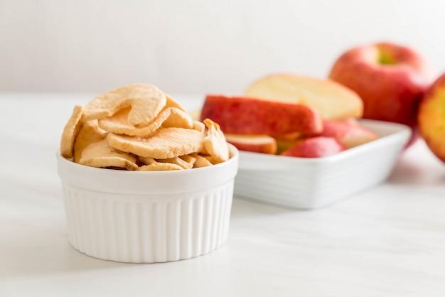 Suszone chipsy jabłkowe