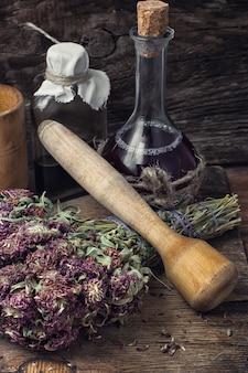 Suszone zioło lecznicze