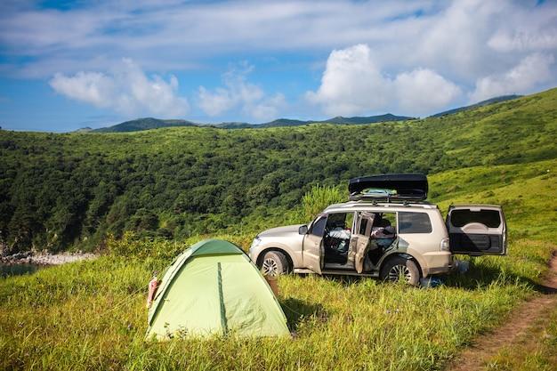Suv. namiot. kemping. lato