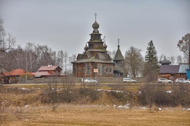 Suzdal muzeum architektury drewnianej, kościół drewniany