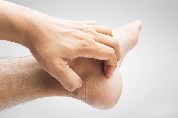 Swędzenie stóp