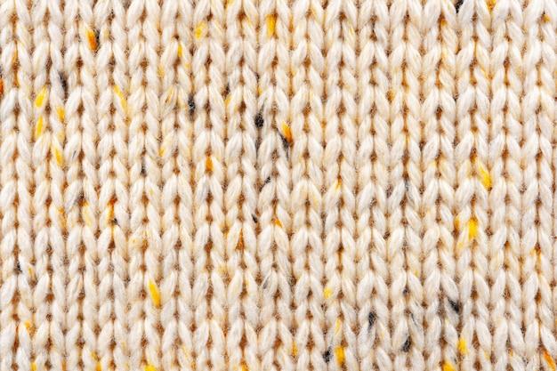 Sweter z wełny dzianiny tekstura tło