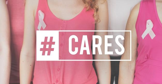 Świadomość zdrowia cure breast cancer