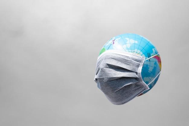 Świat broni się przed covid-19, planetą poddaną kwarantannie według koncepcji covid-19