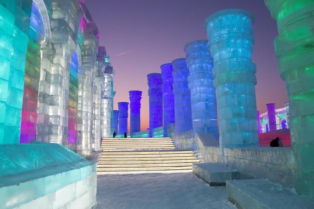 Świat Ice-snow Premium Zdjęcia