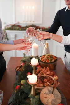 Świąteczna kolacja z rodziną