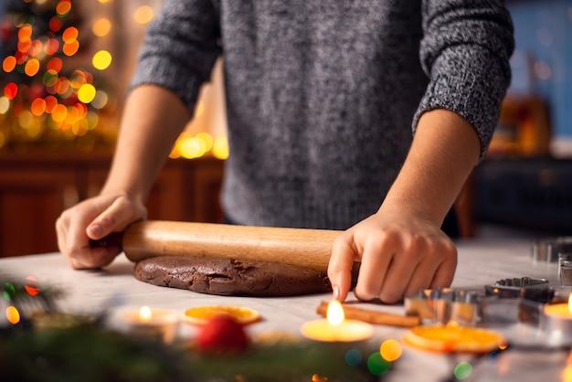 Świąteczna koncepcja pieczenia