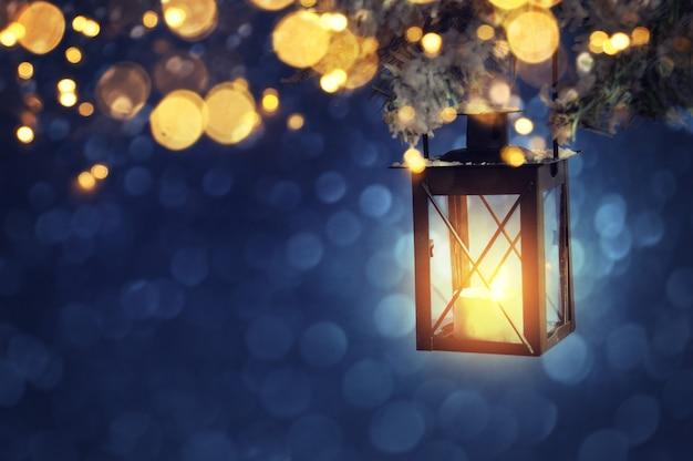 Świąteczna latarnia